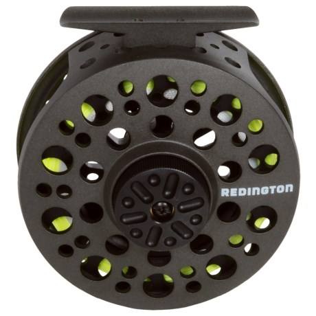 Redington Path Spooled Fly Reel in Matte Charcoal