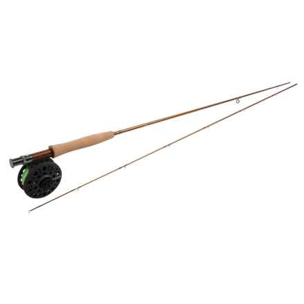 Redington Pursuit Fly Fishing Rod and Reel Outfit - 2-Piece, 4-6wt in See Photo - Closeouts