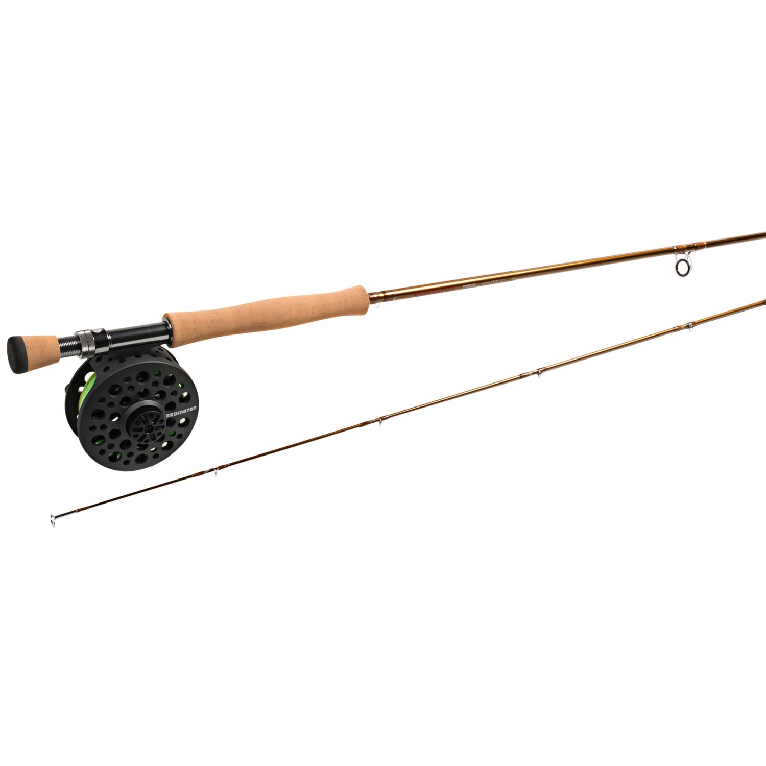 Redington pursuit fly fishing rod and reel outfit 9wt 2 for 2 piece fishing rod