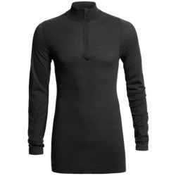 Redington RediLayer Base Layer Top - Merino Wool/Nylon, Neck Zip (For Men) in Black
