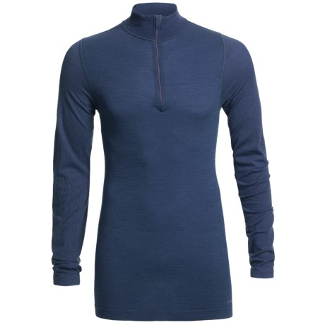 Redington RediLayer Base Layer Top - Merino Wool/Nylon, Neck Zip (For Men) in Eddy