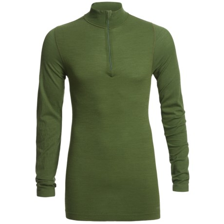 Redington RediLayer Base Layer Top - Merino Wool/Nylon, Neck Zip (For Men) in Yew