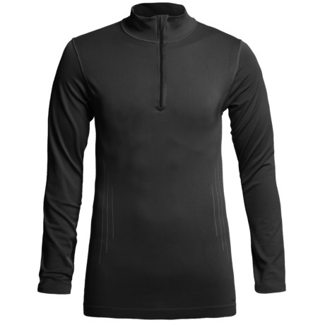 Redington RediLayer Base Layer Top - Zip Neck, Long Sleeve (For Men) in Rust