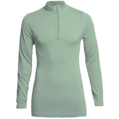 Redington RediLayer Base Layer Top - Zip Neck, Long Sleeve (For Men) in Seal