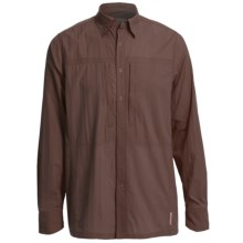 Redington Roaring Fork Shirt - UPF 30+, Long Sleeve (For Men) in Bark - Closeouts