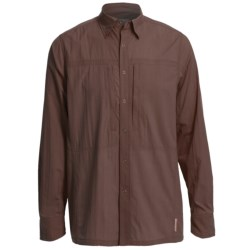 Redington Roaring Fork Shirt - UPF 30+, Long Sleeve (For Men) in Bark