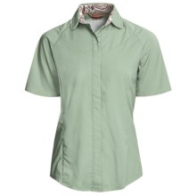 Redington Ruby Fishing Shirt - UPF 30, Short Sleeve (For Women) in Cedar - Closeouts