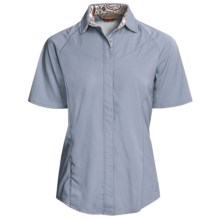 Redington Ruby Fishing Shirt - UPF 30, Short Sleeve (For Women) in River - Closeouts