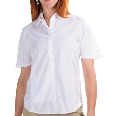 Redington Ruby Fishing Shirt - UPF 30, Short Sleeve (For Women) in White
