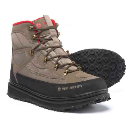 Redington Skagit River Wading Boots - Sticky Rubber (For Men) in Sand - Closeouts
