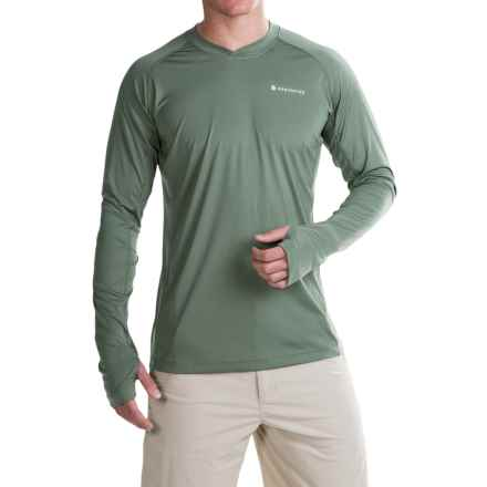 Redington Solartech T-Shirt - UPF 50, Long Sleeve (For Men) in Agave - Closeouts