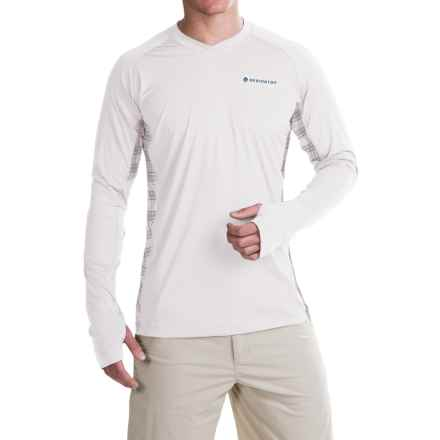Redington Solartech T-Shirt - UPF 50, Long Sleeve (For Men) in Grey Gull - Closeouts