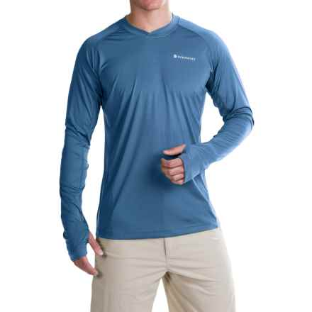 Redington Solartech T-Shirt - UPF 50, Long Sleeve (For Men) in Harbor - Closeouts