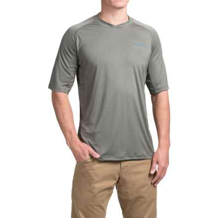 Redington Solartech T-Shirt - UPF 50+, Short Sleeve (For Men) in Charcoal - Closeouts
