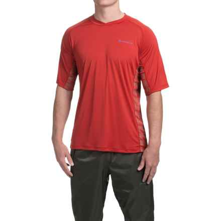 Redington Solartech T-Shirt - UPF 50+, Short Sleeve (For Men) in Red Snapper - Closeouts