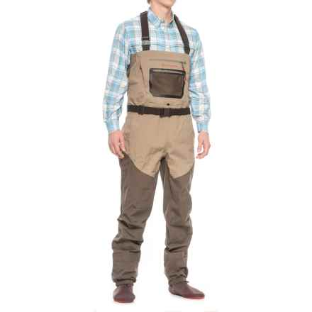 Redington Sonic Pro HD Waders - Stockingfoot (For Men) in Clay/Dark Earth - Closeouts