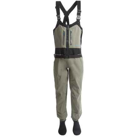 Redington Sonic-Pro Waders - Stockingfoot, Front Zip (For Women) in Driftwood - Closeouts