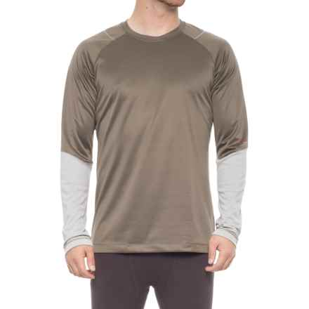 Redington Sonicdry Base Layer Top - Crew Neck, Long Sleeve (For Men) in Terra - Closeouts