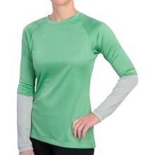 Redington SonicDry Base Layer Top - UPF 35, Crew Neck, Long Sleeve (For Women) in Lotus - Closeouts