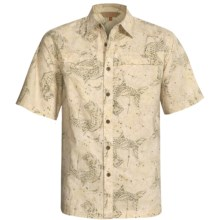 Redington Tarpon Batik Shirt - Short Sleeve (For Men) in Rock - Closeouts
