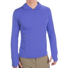 Redington Taylor River Hoodie Pullover - UPF 30+, Zip Neck, Long Sleeve (For Men) in Amethyst - Closeouts