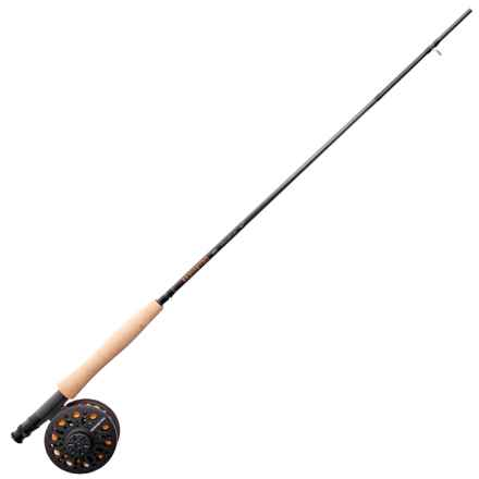 Redington Topo Fly Rod and Reel Outfit - 4-Piece, 9' in See Photo - Closeouts