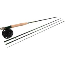 Redington Torrent Fly Fishing Combo - 4-Piece Rod with Surge Reel, 5/6wt in See Photo - Closeouts