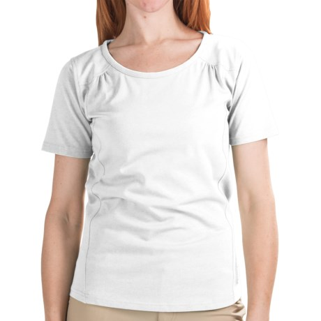 Redington Trinity T-Shirt - UPF 30, Short Sleeve (For Women) in White