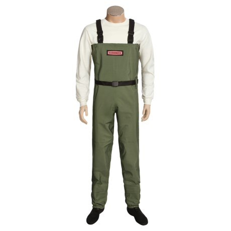 Redington Wayfarer Waders - Stockingfoot (For Men) in Cactus