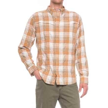 Redington Wayward Guide Snap Front Shirt - UPF 30+, Long Sleeve (For Men) in Sunset - Closeouts