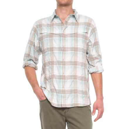Redington Wayward Guide Snap Front Shirt - UPF 30+, Long Sleeve (For Men) in Tidepool - Closeouts