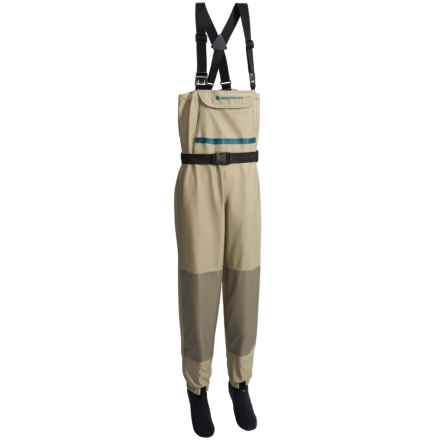 Redington Willow River Chest Waders - Stockingfoot (For Women) in Foam/Rock - Closeouts