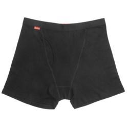 RedRam by Icebreaker Boxer Briefs - Merino Wool (For Men) in Black