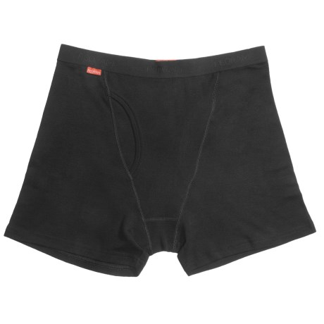 RedRam by Icebreaker Boxer Briefs - Merino Wool (For Men) in Black