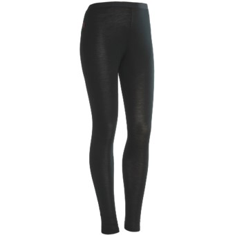 RedRam by Icebreaker Merino Wool Base Layer Leggings - Lightweight (For Women) in Black