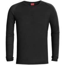 RedRam by Icebreaker Merino Wool Base Layer Top - Lightweight, Long Sleeve (For Men) in Black - Closeouts