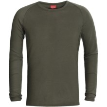 RedRam by Icebreaker Merino Wool Base Layer Top - Lightweight, Long Sleeve (For Men) in Camo - Closeouts