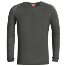 RedRam by Icebreaker Merino Wool Base Layer Top - Lightweight, Long Sleeve (For Men) in Charcoal - Closeouts