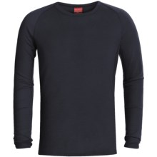 RedRam by Icebreaker Merino Wool Base Layer Top - Lightweight, Long Sleeve (For Men) in Navy - Closeouts