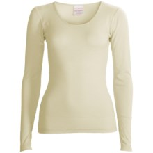 RedRam by Icebreaker Merino Wool Base Layer Top - Long Sleeve (For Women) in Snow - Closeouts