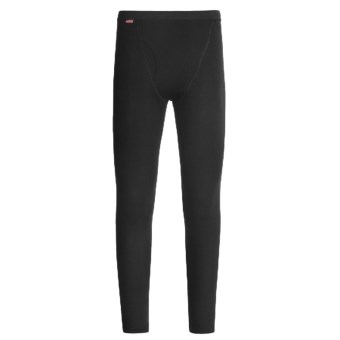 RedRam by Icebreaker Merino Wool Leggings - Base Layer (For Men) in Black
