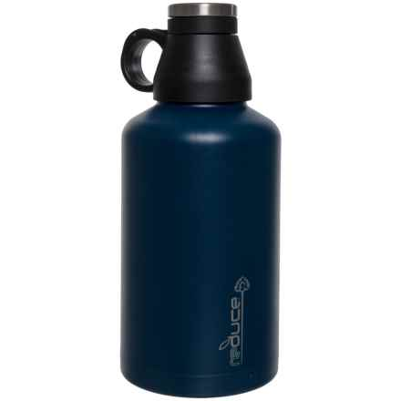 Reduce Stainless Steel Growler - 64 oz., Vacuum-Insulated in Navy - Closeouts