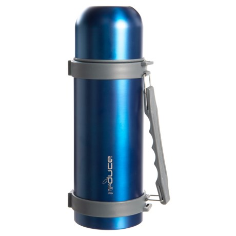Reduce Thermal Stainless Steel Flask - 34 oz. in Blue