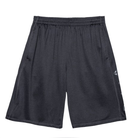 Reebok Active Cationic Jersey Shorts (For Big Boys) in Darkest Heather