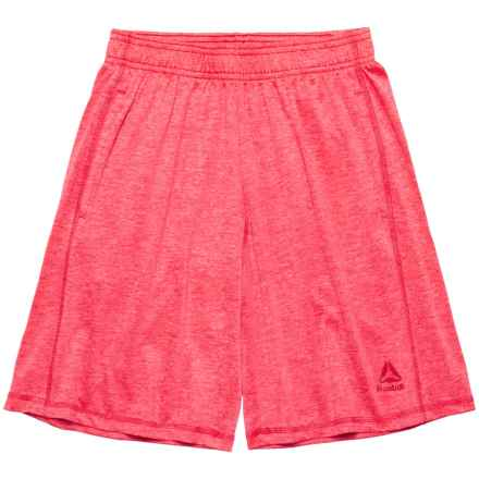 Reebok Active Essentials Shorts (For Big Boys) in Bright Red - Closeouts
