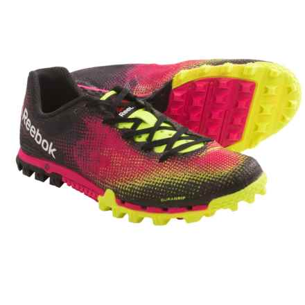 Reebok All Terrain Sprint Running Shoes (For Women) in Neon Yellow/Pink Fusion/Black/Cany Pinkw - Closeouts