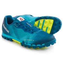 Reebok All Terrain Super 2.0 Trail Running Shoes (For Women) in Neon Blue/Handy Blue/Instinct Blue/Solar Yellow - Closeouts