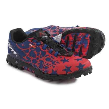 Reebok All-Terrain Super OR USA Trail Running Shoes (For Women) in Collegiate Royal/Scarlet/Black/White - Closeouts