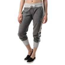 Reebok AM Joggers (For Women) in Charcoal Heather - Closeouts
