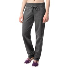 Reebok Bala Straight Pants (For Women) in Charcoal Heather - Closeouts